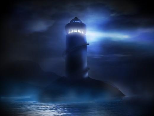 lighthouse-in-the-dark-night,1024x768,ipad-2-wallpaper,6954